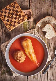 Kölessel töltött paprika | Street Kitchen Hungarian Girls, Ethnic Recipes, Food, Essen, Meals, Yemek, Eten