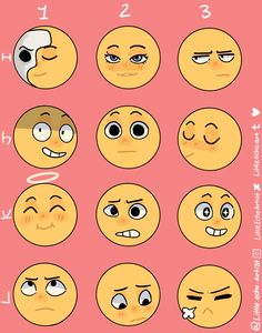Facial Expressions Drawing, Cartoon Expression, Expression Sheet, Anime Faces Expressions, Drawing Meme, Drawing Prompt, Drawing Reference Poses, Drawing Poses, Drawing Challenge