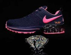 Nike Shox Reax Run Navy Blue Pink Women's Running Shoes Mens Nike Shox, Nike Shox For Women, Nike Shox Nz, Nike Women, Pink Running Shoes, Running Shoes For Men, Running Women, Design Nike Shoes, Lightweight Running Shoes