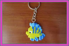 Resultado de imagen de llaveros hama beads mini