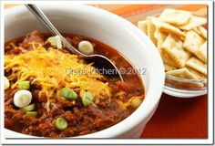 1000+ images about Chili on Pinterest | Chocolate Chili, Chili Con ...