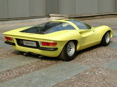 Alfa Romeo P33 Coupe (Pininfarina), 1969 Maintenance of old vehicles: the material for new cogs/casters/gears/pads could be cast polyamide which I (Cast polyamide) can produce