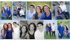 Family Portrait   Cape Cod Beach Portrait High School Senior Portrait