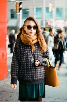 ©Toronto Street Fashion  Analog camera: Minolta X-7A  (Plz do not remove source! Thx~)