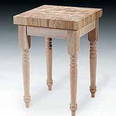 BoosGatheringBlockIIxButcherBlockTableWicker - Boos gathering block ii 36x24 butcher block table 2 wicker basket