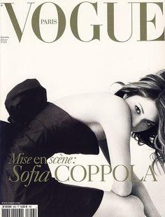 Sofia Coppola on the December/January 2005 cover of Vogue Paris