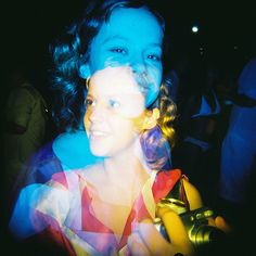 Lomo/Colorsplash double exposure.