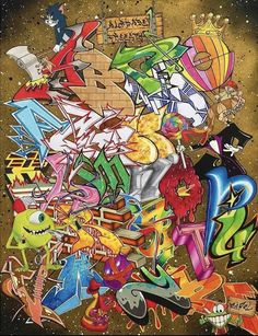 Graffiti Creator, Love Graffiti, Graffiti Drawing, Graffiti Art, Graffiti Characters, Iconic Characters, Hip Hop Art, Graffiti Alphabet, Calligraphy Fonts
