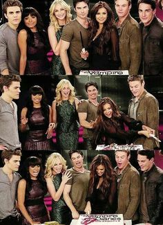 The cast at the episode celebration. {by Paria} Vampire Diaries Stefan, Vampire Diaries Seasons, Vampire Diaries Funny, Vampire Diaries The Originals, Damon Salvatore, The Salvatore Brothers, Zoey Deutch, Vampire Diaries Wallpaper, Vampire Dairies