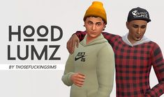 """""""I've been dying for a decent pullover hoodie so when @witch-hammers edited that one from city living I knew I had to crank out some recolors 4 it. Info + download under the cut ;^) """" [[MORE]]•..."""