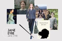 What would our favourite literary heroines wear today? | Never Underdressed ~ Jane Eyre