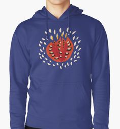 Abstract Red #Tulip Pullover #Hoodie by Boriana Giormova, #Redbubble