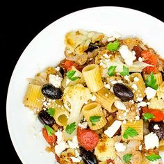 Kitchen Riffs: Pasta with Cauliflower and Olives