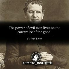 Don't let the drama of the world distract you from the task at hand -- the salvation of souls. Power Of Evil, Love Thoughts, Hail Mary, Thought Provoking, Einstein, Catholic, Reflection, Faith, Let It Be