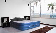 Groupon Goods Global GmbH: Matelas gonflable Airbed 2 places avec gonfleur électrique intégré à 49,90€ (33% de réduction)