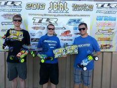 Barnett Wins 4WD Modified at JBRL Electric Round 4!