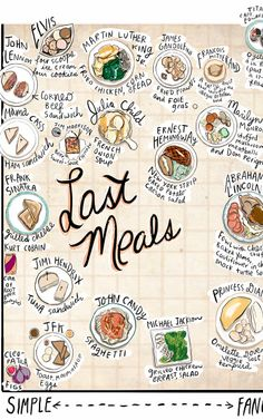 Infographic: The Last Meals Of Departed Famous People, Served On a Platter | Co.Create | creativity + culture + commerce
