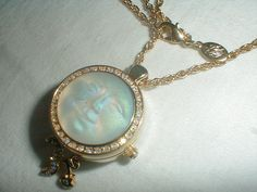 vtg kirks folly watch pendant necklace sea by qualityvintagejewels