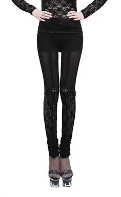 K-177 women sexy legging/Gothic tight trousers from PUNK RAVE