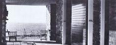 Weekend House in Anavissos - Aris Konstantinidis - 1962 Weekend House, Agra, Athens, Greek, Contemporary, Deco, Artwork, Outdoor, Modernism