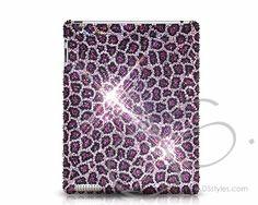 Leopard Swarovski Crystal iPad 2 New iPad Case - Purple http://j.mp/JzRhfZ #leopard