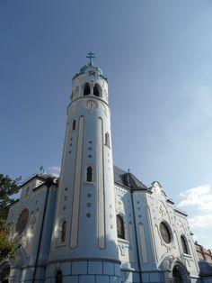 The blue church, Bratislava, Slovakia