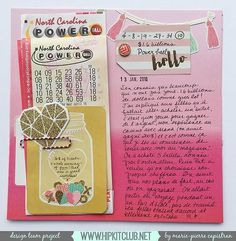Designer @mpcapistran is up with a new 88 Project Life page using our #january2016 kits featuring @cratepaper @mymindseyeinc #hipkits #hipkitclub #scrapbook #scrapbooklayout #papercrafting