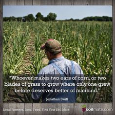 Let's give thanks to the farmers growing our food!