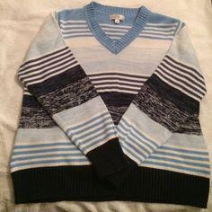 Selling this Women's size 1x Studio Works V neck sweater. in my Poshmark closet! My username is: beegibbs. #shopmycloset #poshmark #fashion #shopping #style #forsale #Studio works #Sweaters