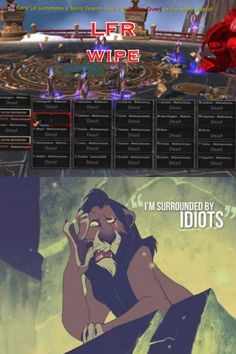 World of Warcraft#LFR problems
