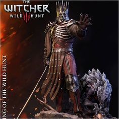 I have long awaited this and you. White Wolf. Prime 1 Studio and CD PROJEKT RED are proud to present PMW3-02: Eredin Breacc Glas from The Witcher 3: Wild Hunt. Features:  Size approximately 61 x 41 x 42 cm  High-Quality translucent resin for a lifelike skin effect Limited to just 800 pieces worldwide. Pre-order now @animegamistore http://ift.tt/2dIBdQV #wicher #goty #pvc #statue #collectibles #game #statue #toyphotography http://ift.tt/2eGnrLj