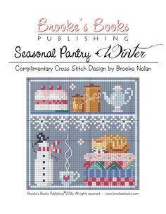 BROOKE'S BOOKS WINTER PANTRY FREE CS CHART | Craftsy
