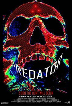 Predator (1987) ~ Minimal Movie Poster by Duke Dastardly
