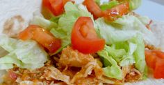 Crock Pot Shredded Chicken Tacos...this meals that shows up on our dinner table AT LEAST once a month! (sweetandsavoryfood.com)