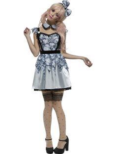 Women's Fever Broken Doll Annie Costume