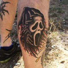 Scream   Community Post: 37 Incredible Horror Movie Tattoos That'll Give You Nightmares