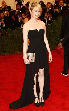 Michelle Williams Sophisticated Style Moments: 2013 MET Gala