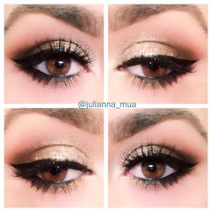 Makeup of the day: Julianna's Neutral Eye by projulianna. Browse our real-girl gallery #TheBeautyBoard on Sephora.com & upload your own look for the chance to be featured here! #Sephora #MOTD