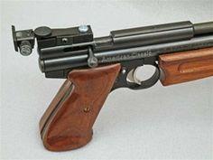 Rear sight for Crosman 1377 and 2240 air pistols with steel breech. crossman