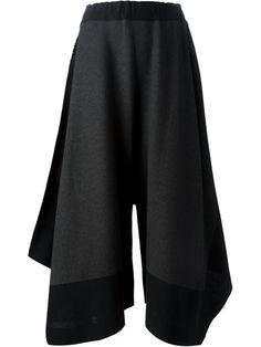 Issey Miyake Draped Wide Leg Trousers - Tessabit - Farfetch.com