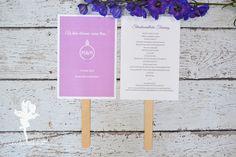 feenstaub.atwedding ceremony, programs, stationary #weddingpapeterie #feenstaub #ceremony Hochzeitspapeterie Zeremonie Trauung