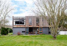 1960s Trevor Dannatt-designed Laslett House in Cambridge, Cambridgeshire