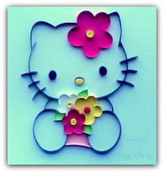 kitty quilling paper