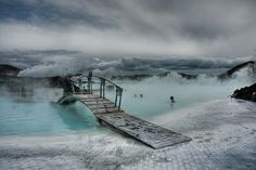 Blue Lagoon, Iceland, how perfect would this be?