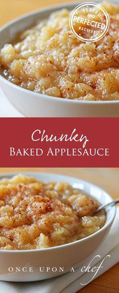 Chunky Homemade Applesauce