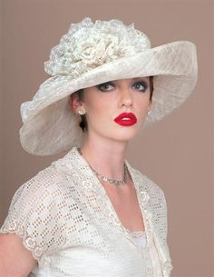 Louise Green Millinery Co. Fancy Hats, Cool Hats, Fascinator Hats, Fascinators, Headpieces, Pork Pie Hut, Rose Hat, Bridal Hat, Stylish Hats