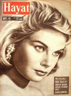 OĞUZ TOPOĞLU : ingrid goud 1959 hayat dergisi