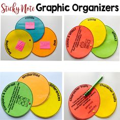 Sticky note graphic