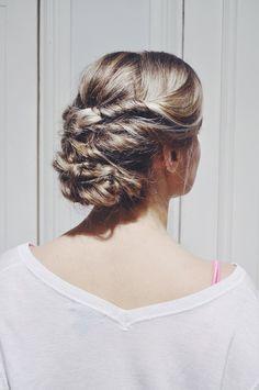 Hair by Susanna Poméll /www.healthyhair.fi #boho #bohohair #hairdo #healthyhairfinland