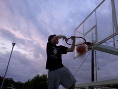me....just dunking!!!